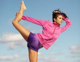 Nina Dobrev in Seventeen Fitness Magazine