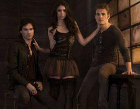 Промо постер к 3 сезону «Дневников Вампира»