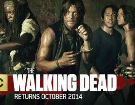the walking dead season 5 banner poster