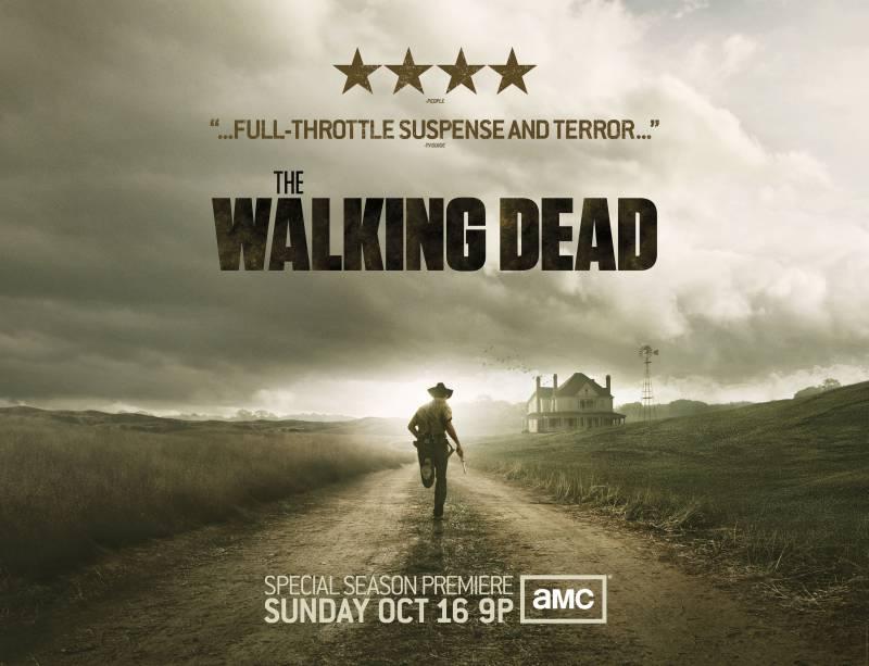 Второй сезон сериала ходячие мертвецы
